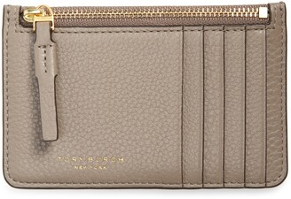 Tory Burch Perry Zip Leather Card Case
