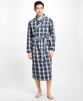 Brooks Brothers Tartan Robe
