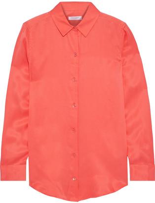 Equipment Essential Washed Silk-blend Shirt