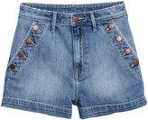 H&M Denim Shorts - Denim blue - Ladies