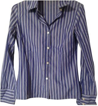 J&M Davidson J & M Davidson Blue Cotton Top for Women