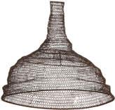 Nkuku Jatani Wire Lamp Shade - Conical - Rust