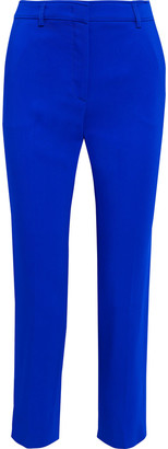 Emilio Pucci Cropped Stretch-crepe Slim-leg Pants