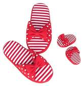 Our Generation Me & You Shoes - Red Jersey Slip-Ons