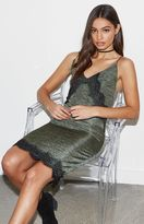 KENDALL + KYLIE Kendall & Kylie Lace Trim Bodycon Slip Dress