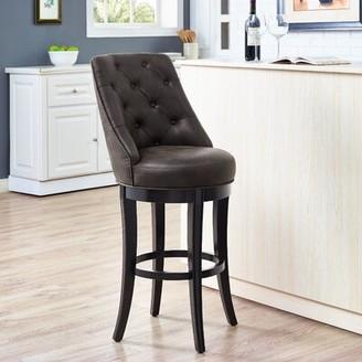 "Red Barrel Studioâ® Karam Swivel Bar & Counter Stool Red Barrel StudioA Seat Height: Bar Stool (30"" Seat Height)"