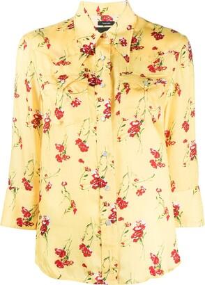 R 13 Floral Button-Down Shirt