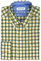 Nautica Classic Fit Wrinkle Resistant Cool Plaid Shirt