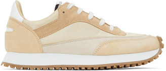 Spalwart Tan Tempo Low Sneakers