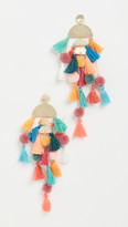 Stella + Ruby Rainbow Tassel Earrings