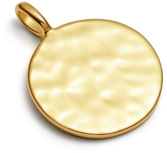 Missoma Gold Hammered Disc Pendant
