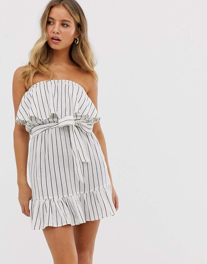 4774cd71 Strapless White Lace Dress - ShopStyle UK
