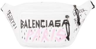 Balenciaga Graffiti Explorer Belt Bag