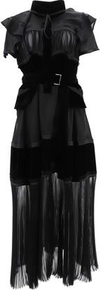 Sacai Panelled Dress
