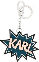 Karl Lagerfeld keyring - women - PVC - One Size