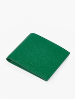Thom Browne Green Grained Leather Billfold Wallet