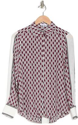 Reiss Florence Geo Print Shirt