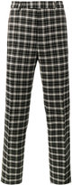 Gucci checked trousers - men - Cotton/Rayon/Wool - 44