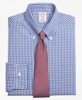 Brooks Brothers Non-Iron Madison Fit Framed Check Dress Shirt