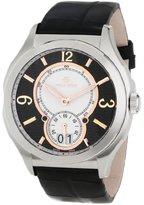 Philip Stein Teslar Men's 17-FRGBW-AB Prestige Black and Rose Gold Black Alligator Strap Watch