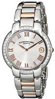 Raymond Weil Women's 5235-S5S-01658 Jasmine Diamond-Accented Two-Tone Watch with Link Bracelet