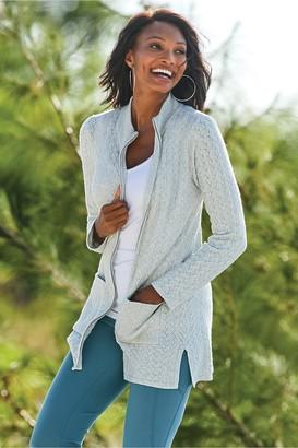 Soft Surroundings Lilidi Sweater Cardi