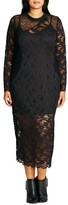City Chic Plus Size Women's Lady Luxe Maxi Dress