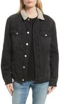 Frame Women's Le Sherpa Denim Jacket
