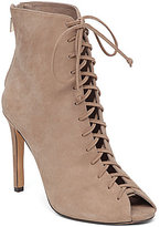 Vince Camuto Kelby Lace Up Peep Toe Booties