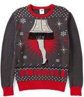 JEM The Christmas Story Leg Lamp LED Lights Christmas Sweater