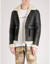 Blood Brother Ferrman leather and shearling jacket