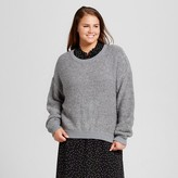 Who What Wear Women's Plus Size Boucle Sweater