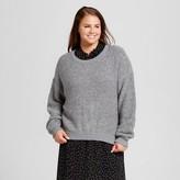 Women's Plus Size Boucle Sweater - Who What Wear