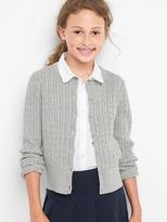 Gap Mini cable knit cardigan