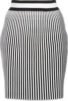 Off-White Off White striped mini skirt