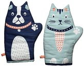 George Home Novelty Oven Gloves - Pack of 2