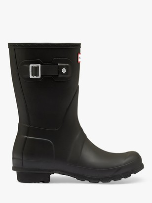 Hunter Women's Original Waterproof Short Wellington Boots, Black
