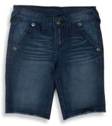 True Religion Toddler's, Little Boy's & Boy's French Terry Denim Shorts