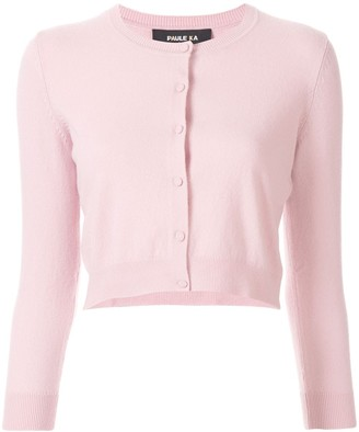 Paule Ka cropped fitted cardigan