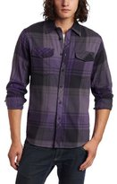 RVCA Men's Rodriguez Brothers Flannel Shirt