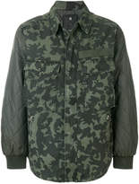 G Star camouflage print jacket