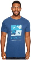 RVCA Surf Check Tee Men's T Shirt