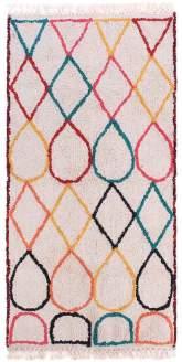 Gall' Art Deco - Wool Sippar Carpet with Berber - wool