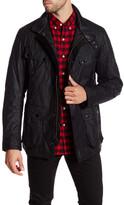 Barbour Falstone Genuine Leather Trim Jacket