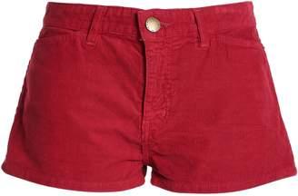 Current/Elliott +charlotte Gainsbourg Cotton-corduroy Shorts