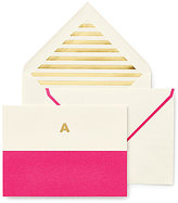 Kate Spade Dipped Initial Card & Envelope Set