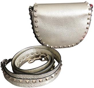 Valentino Rockstud Metallic Leather Handbags