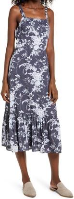 Paige Tolucah Floral Print Tie Shoulder Sundress