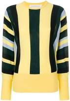 Victoria Victoria Beckham striped knit jumper