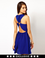 Dress with Ring Back Detail